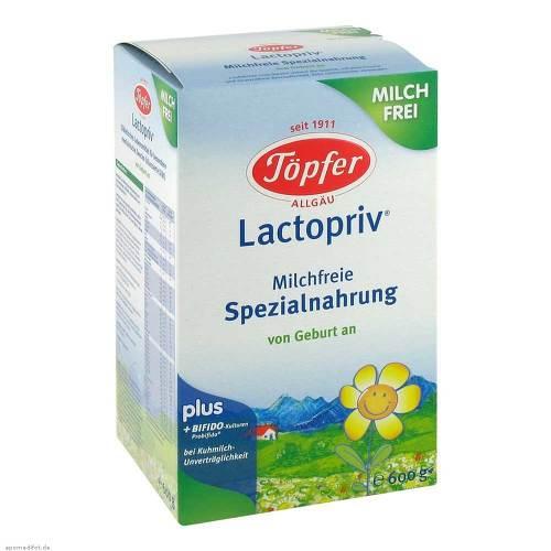 vegane Säuglingsnahrung/Töpfer Lactopriv