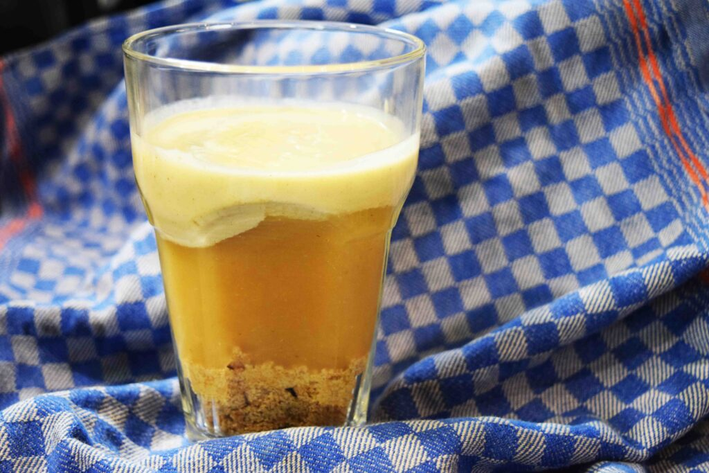 Apfel-Keks-Dessert